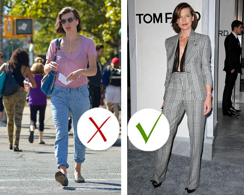 фигура прямоугольник одежда