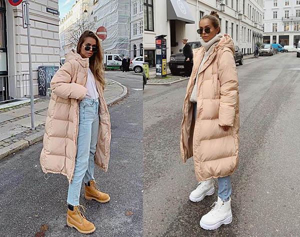 модные образы зима 2020