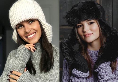 модные шапки для женщин за 50