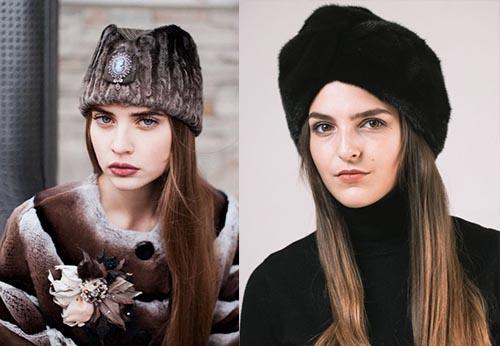 модели шапок для женщин 50 лет, модели шапок для женщин за 50