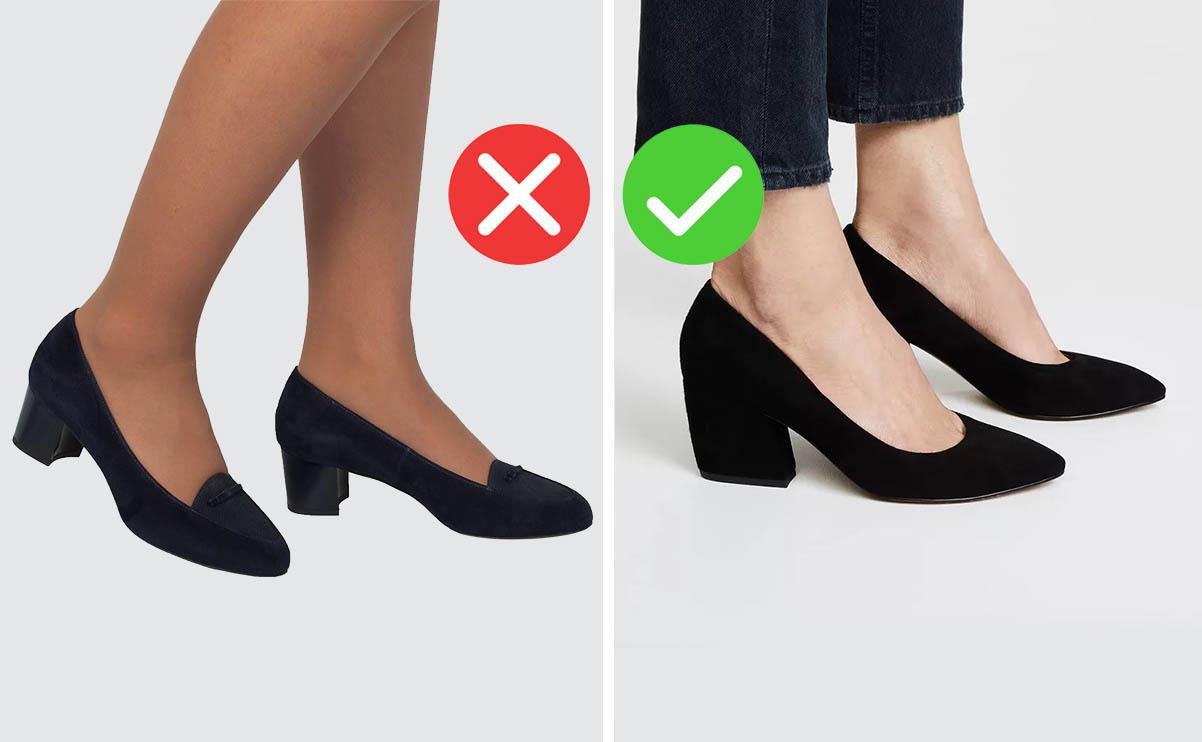 туфли на низком каблуке фото, модные туфли на низком каблуке
